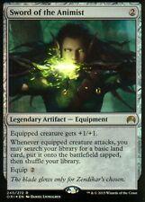 Sword of the Animist FOIL   NM   Magic Origins   MTG