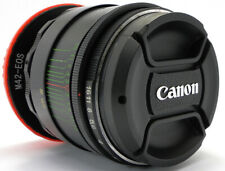 ⭐SERVICED⭐ HELIOS 44-2 2/58 Lens M42 + TOP Quality Adapt. Canon EOS EF Mount