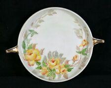 "Vintage Rosenthal Selb Bavaria Donatello Yellow Roses 7""Plate Lois Heath 1946 VF"