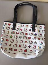 Hello Kitty By Sanrio Kitty Heads Purse/Tote/Handbag Large