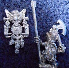 1996 Dwarf Troll Slayer Standard Bearer 2 Command Unit Citadel Warhammer Army GW