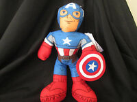 THE AVENGERS CAPTAIN AMERICA Large Plush / Soft Toy 35cm BRAND NEW Hard To Find
