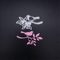 1pc tree bird metal cutting dies stencil scrapbook album papers embossing crafHQ