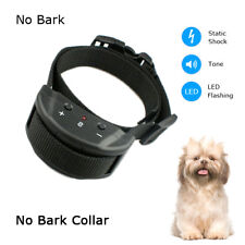 New Version Anti Barking No Bark Dog Training Shock Collar Medium/Small 25-150Lb