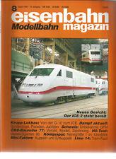 eisenbahn Modellbahn magazin 8 August 1995 G