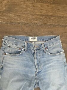 AGOLDE PREMIUM LOS ANGELES: DENIM HIGH WAISTED JEANS SIZE 26
