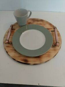 Scorched pine platter/tray