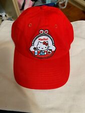 HELLO KITTY 45th Friendship Tour Red Cap With Embroider Cute  Limited NWT