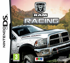 Nintendo DS Ram Racing - A Rare Brand New Factory Sealed Boxed Racing Game