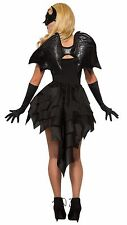 BAT WINGS DEVIL DEMON BLACK ANGEL FANCY DRESS ACCESSORY HALLOWEEN PARTY
