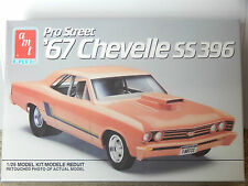 AMT Pro Street '67 Chevelle SS 396  Model Kit #6986