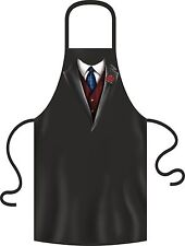Lustige Männer Kochschürze Anzug Krawatte Weste Grillschürze Herren Geschenk