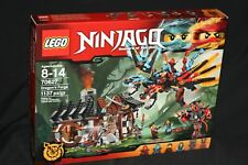 LEGO NINJAGO 70627 DRAGON'S FORGE (2017) RETIRED NEW & SEALED HTF 6 MINIFIGURES