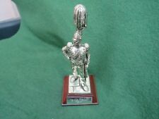 ROYAL HAMPSHIRE PEWTER FIGURE THE 17th REGIMENT OF LIGHT LANCERS 1823