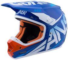 New Answer ANSR Racing Evolve 3 MX Helmet Blue White Orange Adult Medium ATV