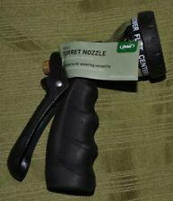 Orbit Garden Hose Turret Nozzle - Metal - Rubber Grip - 7 Pattern 27698