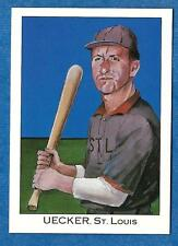1989 Franklin Caramel BOB UECKER (St. Louis Cardinals)