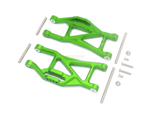 New RC 1:10 Aluminum Front/Rear Lower Arms for TRAXXAS MAXX MONSTER 89076-4