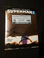 Superman Year One Hardcover HC Signed by Frank Miller & John Romita Jr. DC