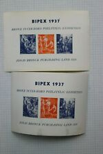 1937 Bipex Bronx Ny Inter-Boro Jonas Bronck Philatelic Expo Souvenir Label Ad