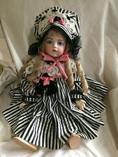 """Beautiful Bruj 13 24"""" doll Butler Repro 56 1986 glass eyes Perfect!"""
