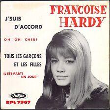 FRANCOISE HARDY TOUS LES GARCONS ET LES FILLES 45T EP BIEM VOGUE EPL 7967
