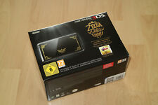 Nintendo 3DS ZELDA Konsole Limited Edition + Ocarina of Time 3D - fast wie neu