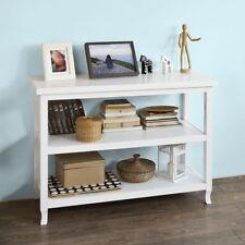 SoBuy®Tabla de consola,armario del pasillo,aparador,mueble de cocina,FSB06-W,ES