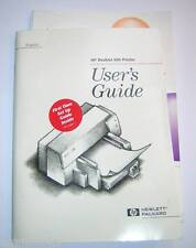HP DeskJet 600 Printer Original Printed User's Guide Manual
