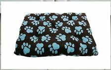 "PB Smith World Paws Dog Bed - XLARGE 28"" x 42"" PAW PRINT DOG BED - Pet Supplies"