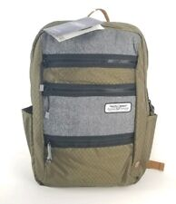 "American Tourister Backpack 18x12x5"" Straight Shooter Laptop Pocket GreenNew"