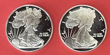 2 - Half Ounce Liberty With Proof Like Finish