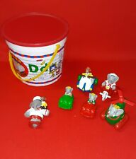 Vintage Arby's Children's Meal 1990 Meal Toys And Bucket Lot Rare Set