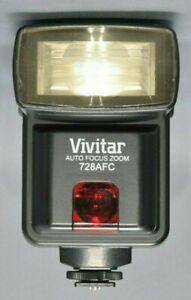 VIVITAR 728 AF-C.   CANON DEDICATED FLASHGUN