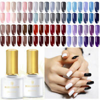 BORN PRETTY Nagel Gellack Soak off Nail Art UV Gel Nagellack Pure Farbe Maniküre