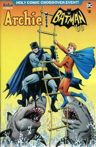 Archie Meets Batman 66 #6C Ordway Variant NM 2019 Stock Image