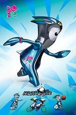 GIOCHI OLIMPICI DI LONDRA 2012: Mandeville-Maxi poster 61cm x 91.5cm (nuovo e sigillato)