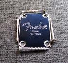 Fender Logo Guitar/Bass Neck Plate F Strat/Tele Guitar/Ba