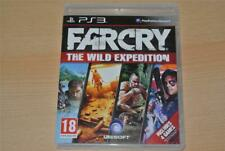 Far Cry 2 & 3 The Wild Expedition PS3 Playstation 3 **FREE UK POSTAGE**