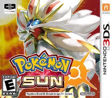 Unlocked Pokemon Sun + All 802 Pokemon 100% Legal Shiny Max Items, Event 3DS New