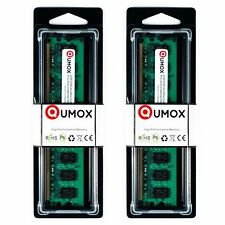 QUMOX 4GB(2x 2GB) DDR2 800MHz PC2-6400 PC2-6300 (240 PIN) DIMM MEMORY 4GB