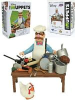 Diamond Select Toys The Muppets Swedish Chef Deluxe Figure Set New In Stock !!!