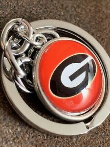 Stylish GEORGIA BULLDOGS  College University NCAA American Football Key Ring