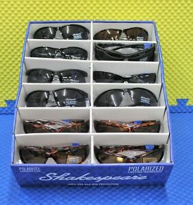 Shakespeare Polarized Sunglasses 100% UVA And UVB Protection CHOOSE YOUR STYLE!