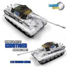 DRAGON GERMAN Sd. Kfz.182 KINGTIGER Henschel Turret 1/72 tank model finished