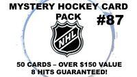 Mystery NHL Lot - Kane? Marner? Matthews? Draisaitl? McDavid? $150 VALUE