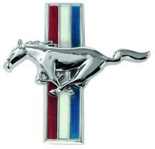 1965-66 Mustang Flat Glove Box Emblem w/Running Horse New