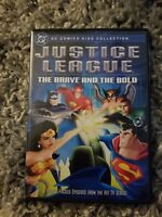 Justice League - The Brave and the Bold (DVD, 2004, Snap-case) (Used)