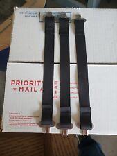 Bullard Hard Hat Liner Suspension One Set Of 3 Black Straps And Clips