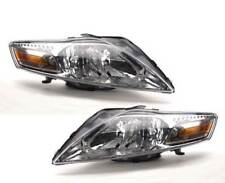 Ford Mondeo MK4 2007-2011 Chrome Front Headlight Headlamp Pair Left & Right